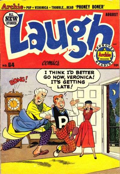 Laugh Comics #64 comic books for sale