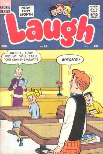 Laugh Comics #95 comic books for sale