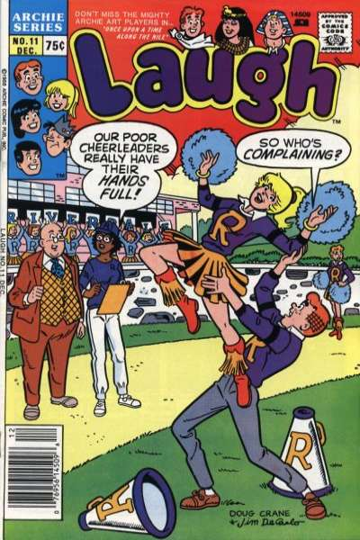 Laugh #11 Comic Books - Covers, Scans, Photos  in Laugh Comic Books - Covers, Scans, Gallery