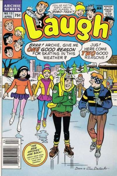 Laugh #13 Comic Books - Covers, Scans, Photos  in Laugh Comic Books - Covers, Scans, Gallery