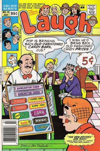 Laugh #15 comic books for sale