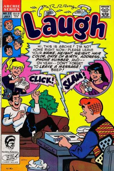 Laugh #22 Comic Books - Covers, Scans, Photos  in Laugh Comic Books - Covers, Scans, Gallery
