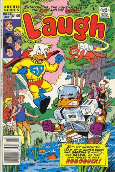 Laugh #24 comic books - cover scans photos Laugh #24 comic books - covers, picture gallery