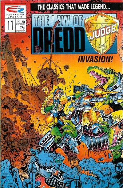 Law of Dredd #11 Comic Books - Covers, Scans, Photos  in Law of Dredd Comic Books - Covers, Scans, Gallery