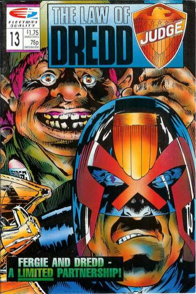 Law of Dredd #13 Comic Books - Covers, Scans, Photos  in Law of Dredd Comic Books - Covers, Scans, Gallery