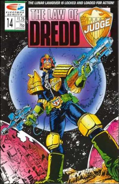 Law of Dredd #14 Comic Books - Covers, Scans, Photos  in Law of Dredd Comic Books - Covers, Scans, Gallery