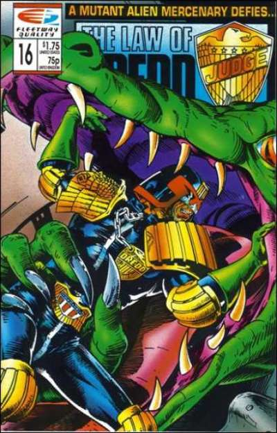 Law of Dredd #16 Comic Books - Covers, Scans, Photos  in Law of Dredd Comic Books - Covers, Scans, Gallery