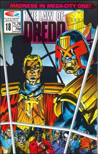 Law of Dredd #18 Comic Books - Covers, Scans, Photos  in Law of Dredd Comic Books - Covers, Scans, Gallery