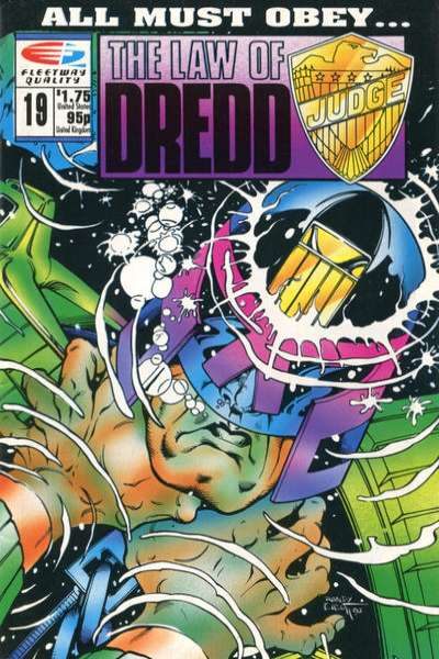 Law of Dredd #19 Comic Books - Covers, Scans, Photos  in Law of Dredd Comic Books - Covers, Scans, Gallery