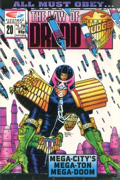Law of Dredd #20 Comic Books - Covers, Scans, Photos  in Law of Dredd Comic Books - Covers, Scans, Gallery
