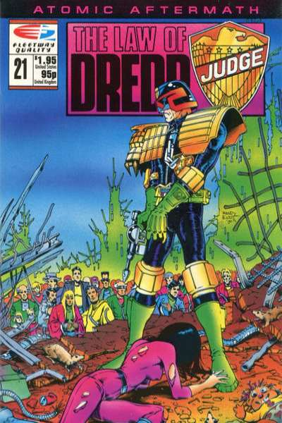 Law of Dredd #21 Comic Books - Covers, Scans, Photos  in Law of Dredd Comic Books - Covers, Scans, Gallery