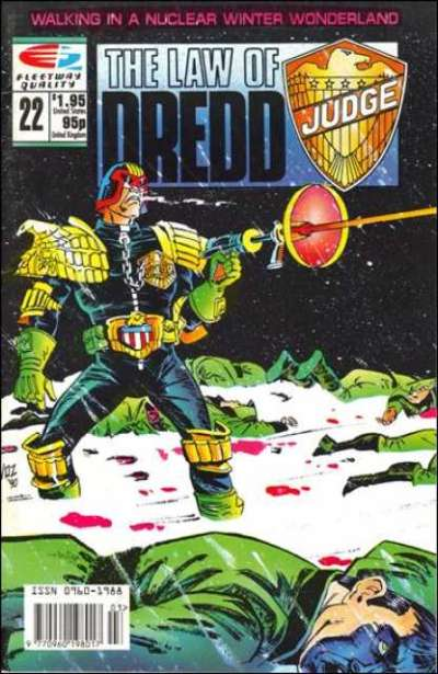 Law of Dredd #22 Comic Books - Covers, Scans, Photos  in Law of Dredd Comic Books - Covers, Scans, Gallery