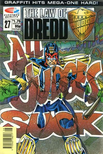 Law of Dredd #27 comic books for sale
