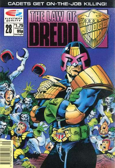 Law of Dredd #28 comic books for sale