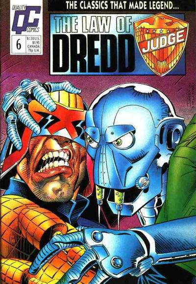 Law of Dredd #6 comic books for sale