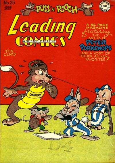 Leading Comics #25 comic books - cover scans photos Leading Comics #25 comic books - covers, picture gallery