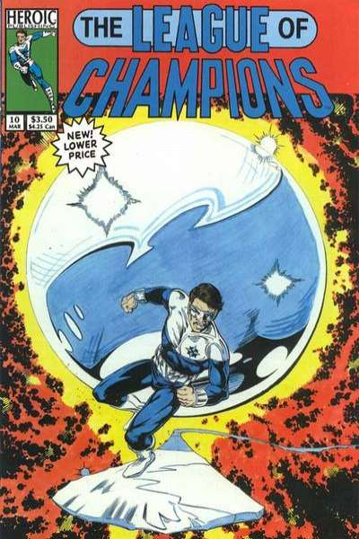 League of Champions #10 Comic Books - Covers, Scans, Photos  in League of Champions Comic Books - Covers, Scans, Gallery