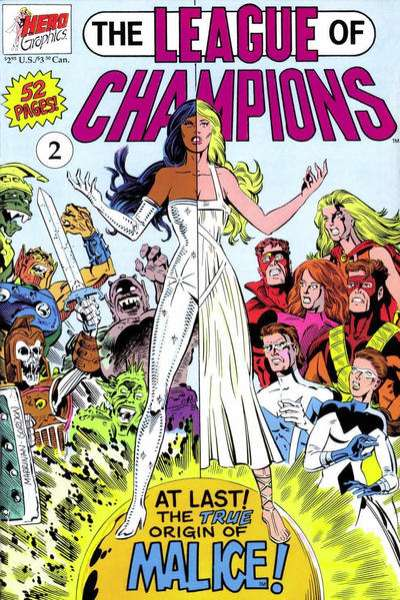 League of Champions #2 comic books for sale
