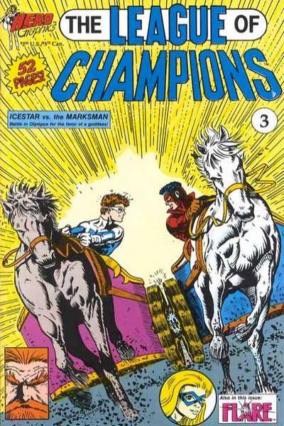 League of Champions #3 Comic Books - Covers, Scans, Photos  in League of Champions Comic Books - Covers, Scans, Gallery