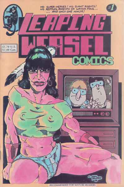 Leaping Weasel Comics comic books