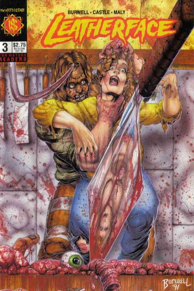 Leatherface #3 comic books for sale