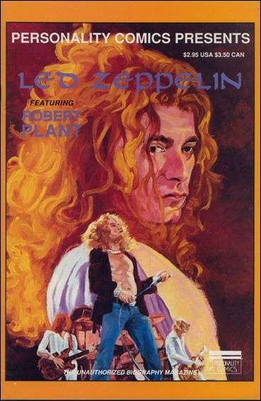 Led Zeppelin comic books