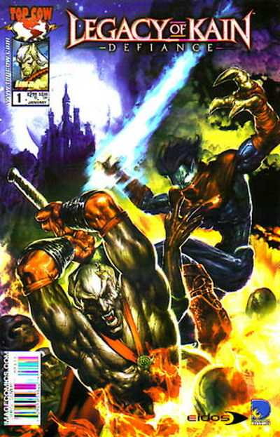 Legacy of Kain: Defiance Comic Books. Legacy of Kain: Defiance Comics.