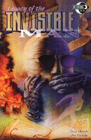 Legacy of the Invisible Man Comic Books. Legacy of the Invisible Man Comics.