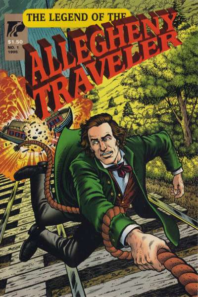 Legend of the Allegheny Traveler #1 comic books - cover scans photos Legend of the Allegheny Traveler #1 comic books - covers, picture gallery