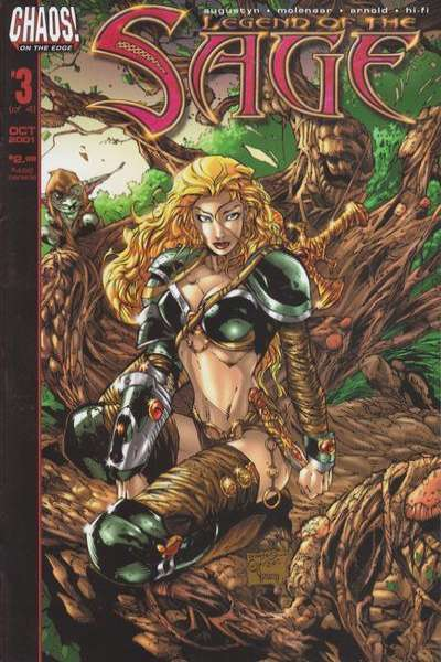Legend of the Sage #3 comic books for sale
