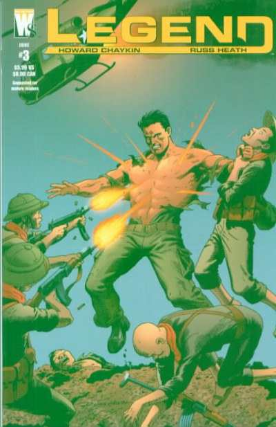 Legend #3 comic books - cover scans photos Legend #3 comic books - covers, picture gallery