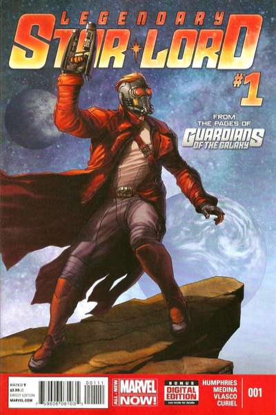 Legendary Star-Lord #1 Comic Books - Covers, Scans, Photos  in Legendary Star-Lord Comic Books - Covers, Scans, Gallery