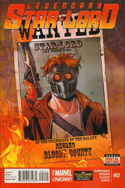 Legendary Star-Lord #2 Comic Books - Covers, Scans, Photos  in Legendary Star-Lord Comic Books - Covers, Scans, Gallery