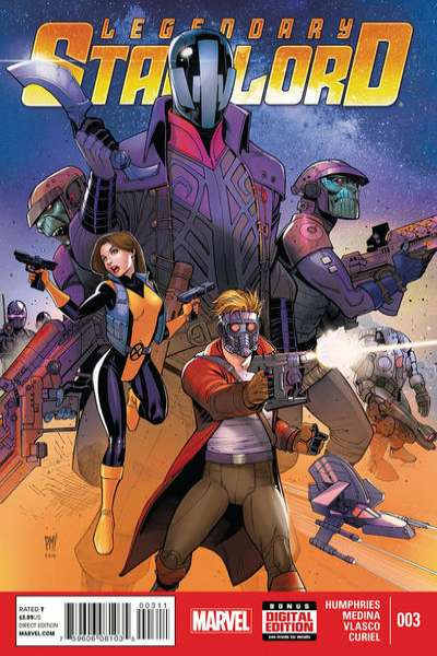 Legendary Star-Lord #3 Comic Books - Covers, Scans, Photos  in Legendary Star-Lord Comic Books - Covers, Scans, Gallery