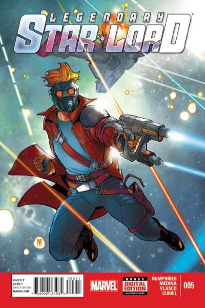 Legendary Star-Lord #5 Comic Books - Covers, Scans, Photos  in Legendary Star-Lord Comic Books - Covers, Scans, Gallery