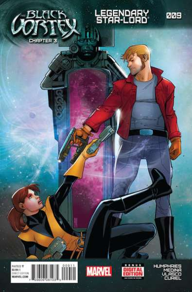 Legendary Star-Lord #9 Comic Books - Covers, Scans, Photos  in Legendary Star-Lord Comic Books - Covers, Scans, Gallery