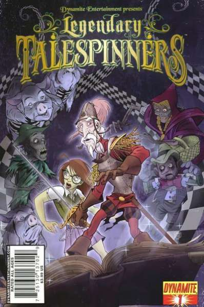 Legendary Talespinners #1 comic books - cover scans photos Legendary Talespinners #1 comic books - covers, picture gallery
