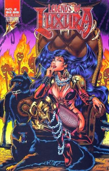 Legends of Luxura #2 comic books - cover scans photos Legends of Luxura #2 comic books - covers, picture gallery