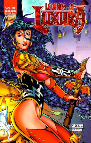 Legends of Luxura #3 Comic Books - Covers, Scans, Photos  in Legends of Luxura Comic Books - Covers, Scans, Gallery