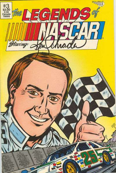 Legends of NASCAR #3 comic books for sale