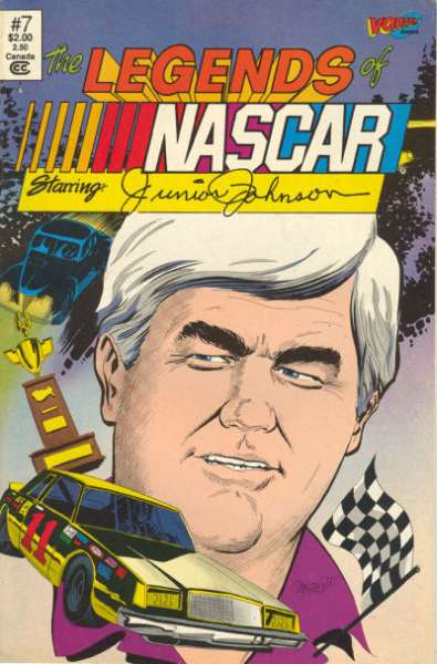 Legends of NASCAR #7 comic books for sale
