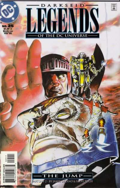 Legends of the DC Universe #25 comic books - cover scans photos Legends of the DC Universe #25 comic books - covers, picture gallery