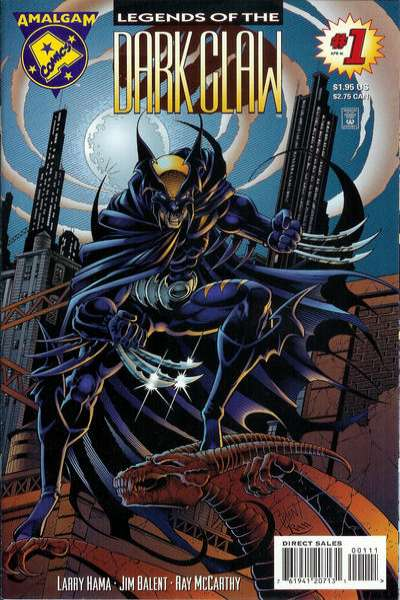 Legends of the Dark Claw comic books