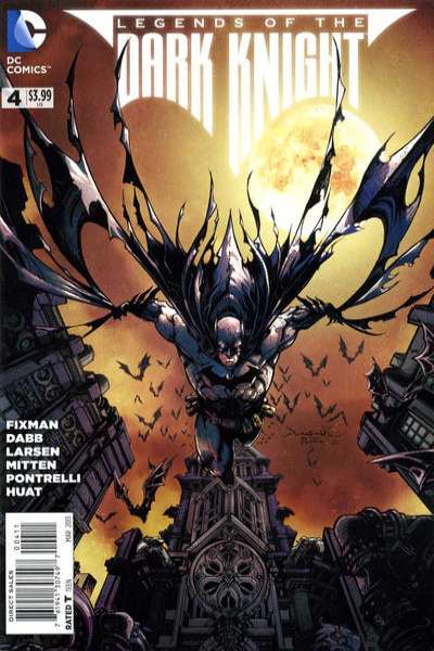 Legends of the Dark Knight #4 comic books for sale