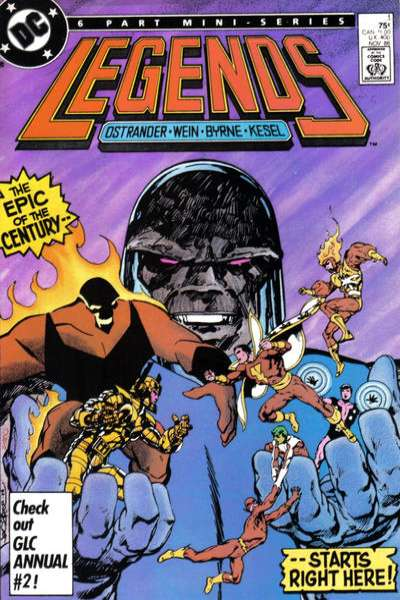 Legends #1 Comic Books - Covers, Scans, Photos  in Legends Comic Books - Covers, Scans, Gallery