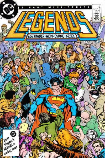 Legends #2 Comic Books - Covers, Scans, Photos  in Legends Comic Books - Covers, Scans, Gallery