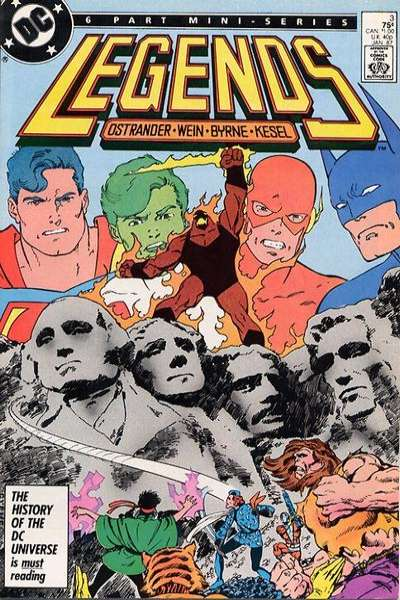 Legends #3 Comic Books - Covers, Scans, Photos  in Legends Comic Books - Covers, Scans, Gallery