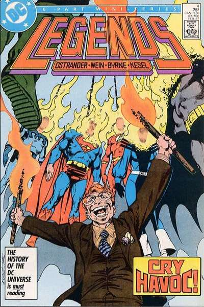 Legends #4 Comic Books - Covers, Scans, Photos  in Legends Comic Books - Covers, Scans, Gallery