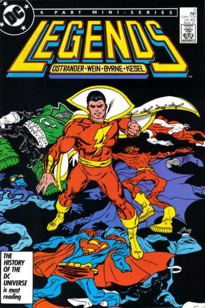 Legends #5 Comic Books - Covers, Scans, Photos  in Legends Comic Books - Covers, Scans, Gallery