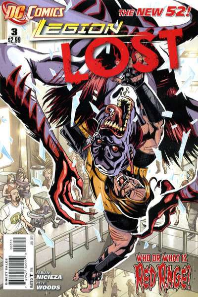 Legion Lost #3 comic books - cover scans photos Legion Lost #3 comic books - covers, picture gallery